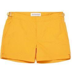 hockney, menswear, yellow shorts