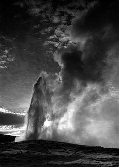 Ansel Adams Geyser