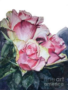 Rose Michelangelo Painting