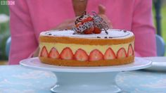 Genoese Sponge - French Week in The Great British Bake Off - Great British Chefs