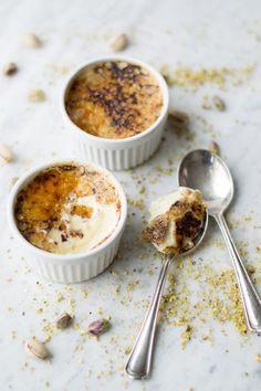 Pistachio Creme Brulee