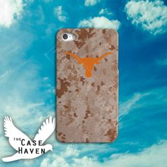 Texas Long horns desert Custom iPhone Case for by TheCaseHaven, $14.99