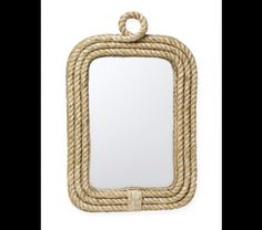 rope knot mirror