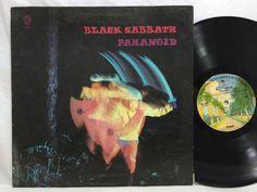 Black Sabbath - Paranoid - WS1887 - LP Vinyl Record USA Burbank Palm Tree Label