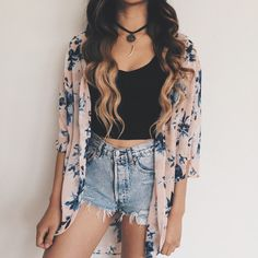 40 Off Shoulder Outfits to Look Stylish In Hot Summer Days - Outfit & Fashion Cute Summer Outfits, Outfits For Teens, Spring Outfits, Cool Outfits, Casual Outfits, Cute Fashion, Look Fashion, Fashion Outfits, Womens Fashion