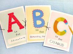 ABC minibook free printables