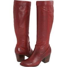 Red boots -- why? I don't know! I just love them.