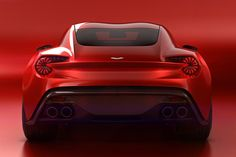 Aston Martin Vanquish Zagato - rear
