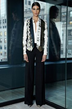 Rachel Roy Pre-Fall 2013 Collection Slideshow on Style.com