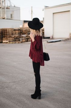 Casual fall/winter outfit | Love, Lenore