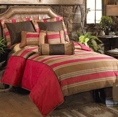 Save - on all Western Bedding and Comforter Sets at Lone Star Western Decor. Your source for discount pricing on cowboy bed sets and rustic comforters. Rustic Comforter, Comforter Sets, Luxury Bedding Collections, Luxury Bedding Sets, Western Bedding, Matching Bedding And Curtains, Southwest Decor, Western Decor, Western Style