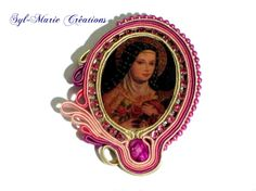 """""""Madona"""" Broche by Syl-Marie Creations"""