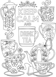 creative coloring pages to print Coloring Pages For Grown Ups, Printable Adult Coloring Pages, Coloring Pages To Print, Coloring Book Pages, Coloring Sheets, Colouring Pages For Adults, Buch Design, Mandala Art, Illustration