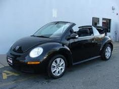 Black 2008 Volkswagen New Beetle S Convertible With Interior