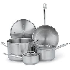 Vollrath (3822) Deluxe 7-Piece Optio Cookware Set * Visit the image link more details.