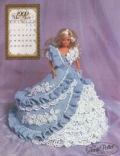 Barbie en Crochet