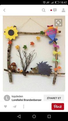 Basteln Mit Kindern arşivleri – Bastelideen 💡 Handicrafts with children arşivleri – handicraft ideas 💡 Kids Crafts, Fall Crafts For Kids, Diy For Kids, Diy And Crafts, Arts And Crafts, Summer Crafts, Easter Crafts, Christmas Crafts, Autumn Crafts
