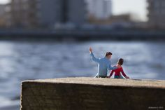 Little People - a tiny street art project: One Day Son