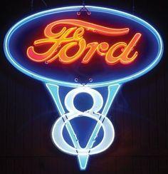 Ford V8 Sign