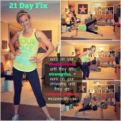 21 Day FIx, Workout Motivation, Fitness Motivation Quotes