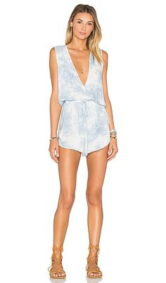 Shop for Blue Life Deep V Romper in Blue Cream at REVOLVE. Free 2-3 day shipping and returns, 30 day price match guarantee.