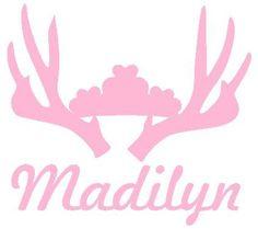 Baby Room Wall Decor M2M Pink Camo Realtree Baby Nursery -Princess Personalized