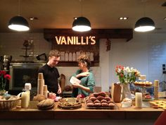 The Lily Vanilli Bakery in London