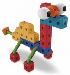 I think Trio blocks are even more fun than Legos.  Not that Legos aren't great.  We love them, too.