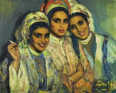 José Cruz Herrera (1890-1972) was an Spanish painter who concentrated principally on Genre works and landscape art. He worked in Spain, Uruguay, Argentina, France and especially Morocco, where he lived for much of his life in Casablanca. Many of his works are displayed at the Museo Cruz Herrera in his home town of La Línea de la Concepción (Cádiz).