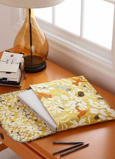 Sew this attractive laptop bag for a friend, then reward yourself by making one to keep.