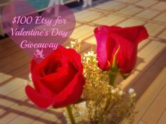 $100 #Etsy for #ValentinesDay #Giveaway on The Seaman Mom