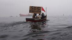 Águas de Pontal: A Baía de Guanabara grita SOS.