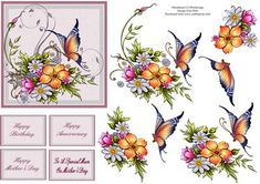 To A Special Mum On Mother s Day on Craftsuprint designed by Frances Dent - This light and colourful design with blooms and butterfly comes with one base layer, four step by step layers, four butterflies and four assorted Mum/female sentiments. Thank you for looking at my design. Please take a moment to look at my other designs by clicking on my name. Enjoy. - Now available for download!