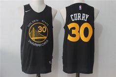 Stephen Curry  30 Golden State Warriors Nike Player Swingman Road Jersey -  Black Nike Nba ad47704331e4