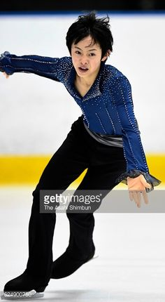 Koshiro Shimada competes in the Men's Singles free program during day three of the 85th All Japan Figure Skating Junior Championships at Sapporo...