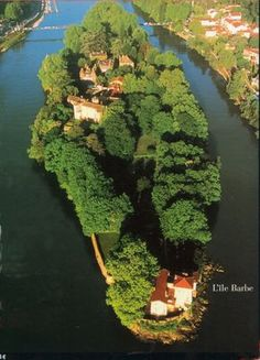 L'Ile Barbe | Auberge de l'Ile Barbe Most Beautiful Cities, Wonderful Places, World Images, Rhone, Places Of Interest, Life Is An Adventure, Best Vacations, Castle, Around The Worlds