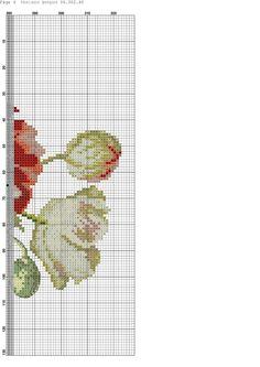 Cross Stitch Love, Cross Stitch Flowers, Counted Cross Stitch Patterns, Cross Stitch Charts, Cross Stitch Embroidery, Embroidery Patterns, Rosa Shabby Chic, Beautiful Flower Designs, Cross Stitching