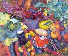 Evgenia Antipova (1917-2009) Still-Life (1964) Private collection, Russia