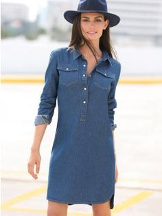 Swans Style is the top online fashion store for women. Shop sexy club dresses, jeans, shoes, bodysuits, skirts and more. Cute Dresses, Casual Dresses, Short Dresses, Casual Outfits, Summer Dresses, I Dress, Dress Outfits, Fashion Dresses, Denim Shirt Dress