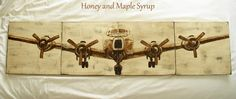 PB Airplane Knockoff - Honey and Maple Syrup//MY NEXT PROJECT- SOOOOO EXCITED:)