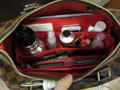 Louis Vuitton Neverfull MM Ebene Damier fitted bag organizer by CloverSac, Emma 28