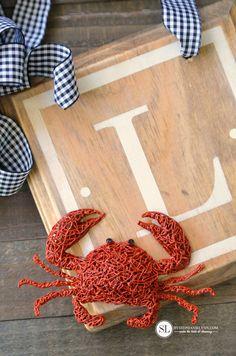 3Doodler Crab Summer Wreath