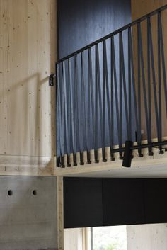 Osprey Nest/Strängnäs — Jordens Wood Railing, Balcony Railing, Stair Railing, Osprey Nest, Nordic Lights, Box Houses, Industrial Interiors, Urban Industrial, House In The Woods