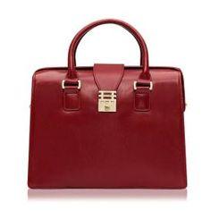 Florian Eleanor Doctor Bag, Rose Red