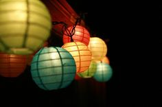 I just bought these lanterns for our deck a few days ago! Love 'em!