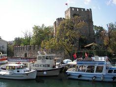 Castillo de Anatolia (Anadolu Hisarı en turco) #estambul #turquia #istanbul