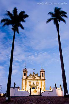 Igreja Santuário de Bom Jesus de Matosinho, Congonhas, Minas Gerais - BRASIL