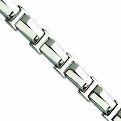Genuine Chisel (TM) Bracelet. Stainless Steel Polished 8.5in Bracelet. 100% Satisfaction Guaranteed. Chisel. $55.95. 100% Satisfaction Guaranteed.. Ships From the United States.. Genuine Chisel (TM) Bracelet.