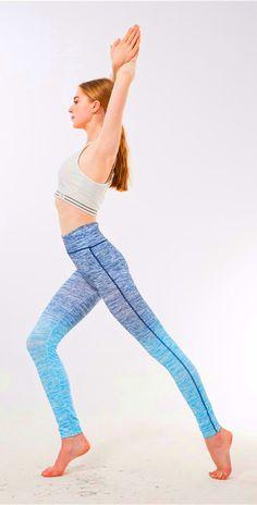 e3f662551c #Fashion women silm sports yoga leggings Yoga Leggings, Spandex, Type,  Striped Leggings