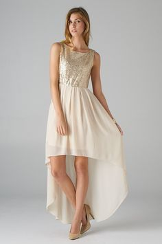 party hi low dress. perfect for the holidays